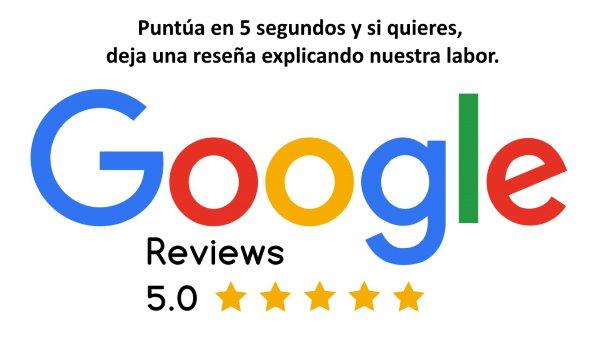 Valorar a protectora el Cau en Google